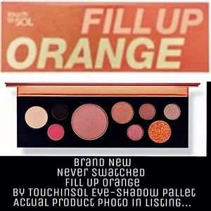 touchinSOL Glam Fill Up Orange Eye shadow pallet!